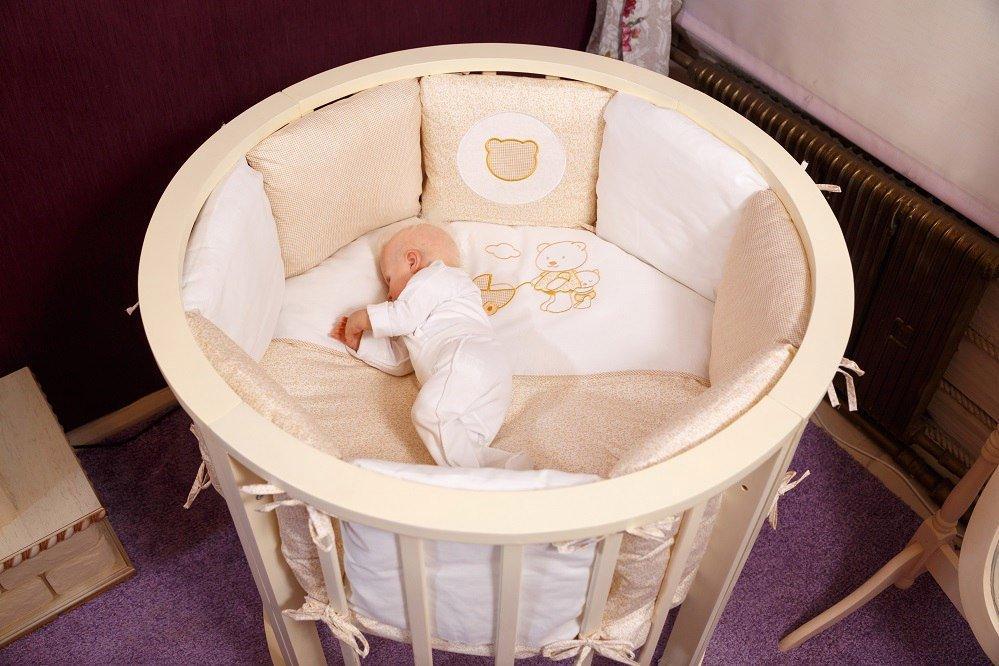 Круглые кровати для новорожденных фото
